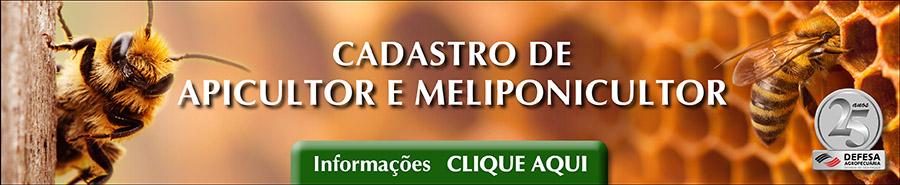 Apicultor e Meliponicultor do Estado de São Paulo