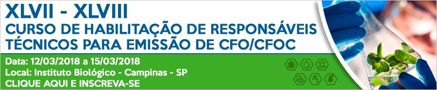 Curso de Habilitação para Emissão de CFO/CFOC