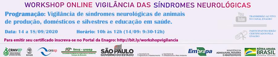 Workshop sobre Vigilância das Síndromes Neurológicas em Herbívoros 2020